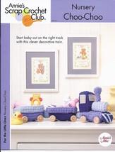 Nursery Choo-Choo Train Crochet Pattern~Annie's - $3.99