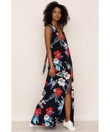 NWT ANTHROPOLOGIE HIBISCUS TANGO ISLAND PUNCH SILK MAXI DRESS by YUMI KIM M - $161.49