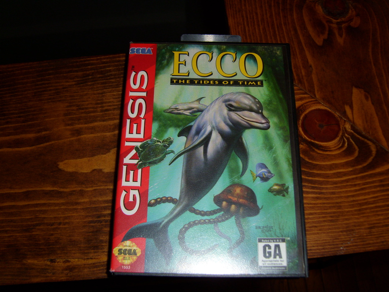 Primary image for Ecco Tides of Time Sega Genesis game