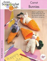 Carrot Bunnies Crochet Pattern~Annie's - $3.99
