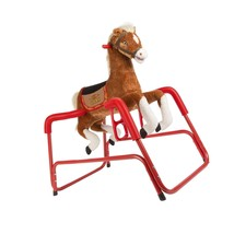 NEW! Kids Horse Rockin Rider Talking Plush Spring Lucky Lacey Animated R... - $147.40