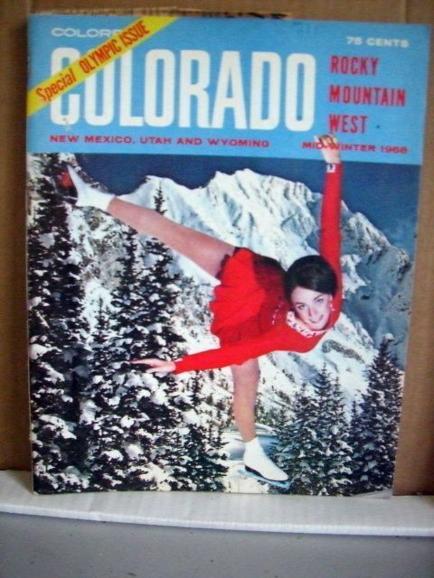 Primary image for Colorful Colorado Rocky Mountain West Mid-Winter 1968 Peggy Fleming
