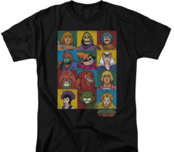 Masters of the Universe animated series characters graphic tee He-man DRM225 image 2