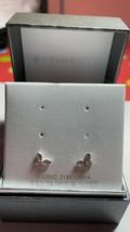 Kohl Cubic Zirconia Sterling Silver Earing Butterfly image 1
