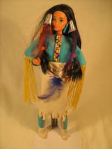 """11"""" Doll AMERICAN INDIAN 1990 Mattel [Y59B] - $14.44"""