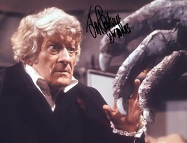 Jon Pertwee Signed Photo 8X10 Rp Autographed Doctor Who 1970'S - $19.99