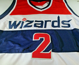 JOHN WALL / 5X NBA ALL-STAR / AUTOGRAPHED WASHINGTON WIZARDS CUSTOM JERSEY / COA image 2