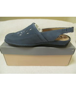 SOFT WALK DENIM BLUE SHOES, SIZE 10W (NEW) - $35.00