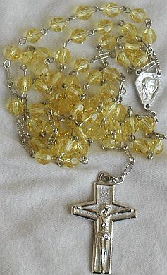 Primary image for Yellow Rosary