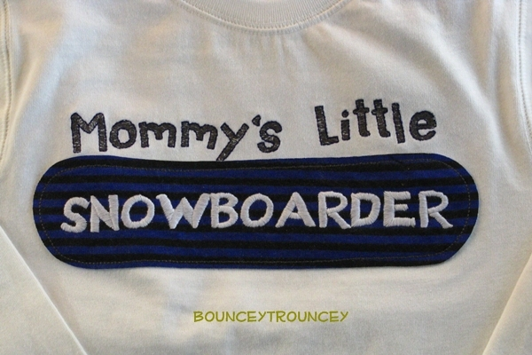 NWT Gymboree Snowboard Legend Mommy's Tee Long Sleeve Sz 5T