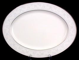 Noritake Trudy Oval Platter 7087 New Stock China - $25.00