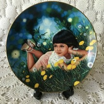 The Hamilton Collection Treasured Days Lindsey Collector Plate 1987 0005H - $11.63