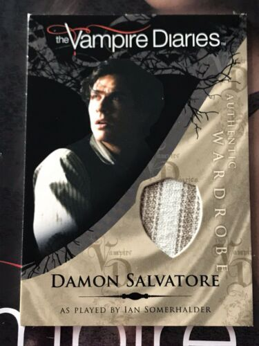 Primary image for Vampire Diaries Season 1 Wardrobe Card M12 Ian Somerhalder as Damon Salvatore