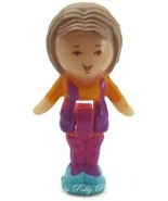 1990 Polly Pocket Doll Lulu in her Necklace - Lulu - $6.00