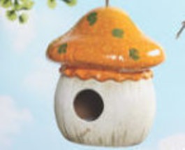 Mushroom Birdhouse New - $19.95