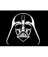 DARTH VADER HELMET Star Wars Vinyl Decal Car Sticker Wall CHOOSE SIZE COLOR - $2.60+