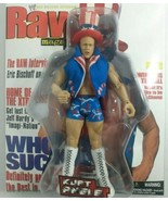 Kurt Angle WWE Jakks RAW Uncovered Wrestling Action Figure Magazine Cove... - $29.69