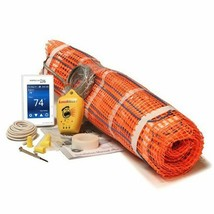 "SunTouch Mat Radiant Floor Heating Mat Kits 80 sq feet 24"" x 40'- 120 V. - $1,000.00"