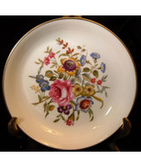 """ROYAL WORCESTER BOURNEMOUTH PIN DISH BUTTER PAT 4½"""" XLT - $11.52"""