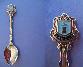 Primary image for RAMSEY England Souvenir Collector Spoon Collectible GREAT BRITAIN UK. British
