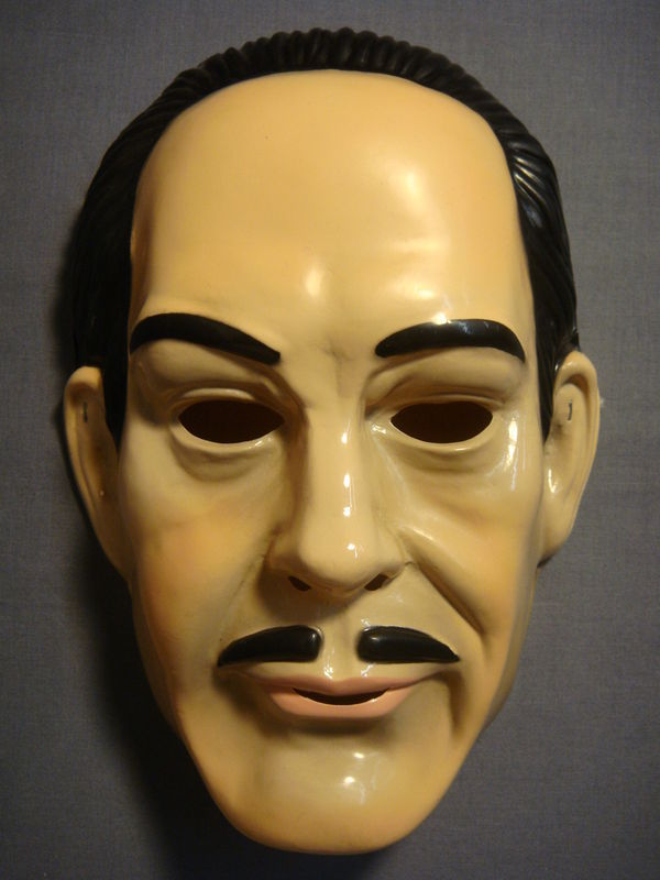 THE ADDAMS FAMILY GOMEZ ADDAMS HALLOWEEN MASK PVC NEW