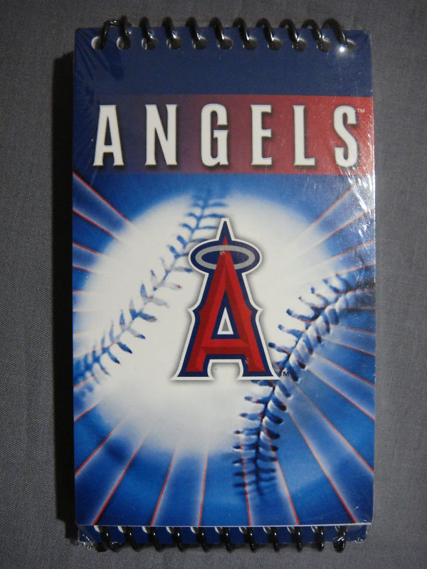 ANAHEIM ANGELS MINI 3x5 MEMO NOTEPAD 3 PACK MLB NEW