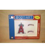 ANAHEIM ANGELS TATTOOS JEWELED BODY ART REUSABLE MLB - $5.95