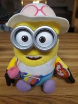 Despicable Me 3 Minion TY Beanie Babies Tourist Jerry Plush - New - $7.60