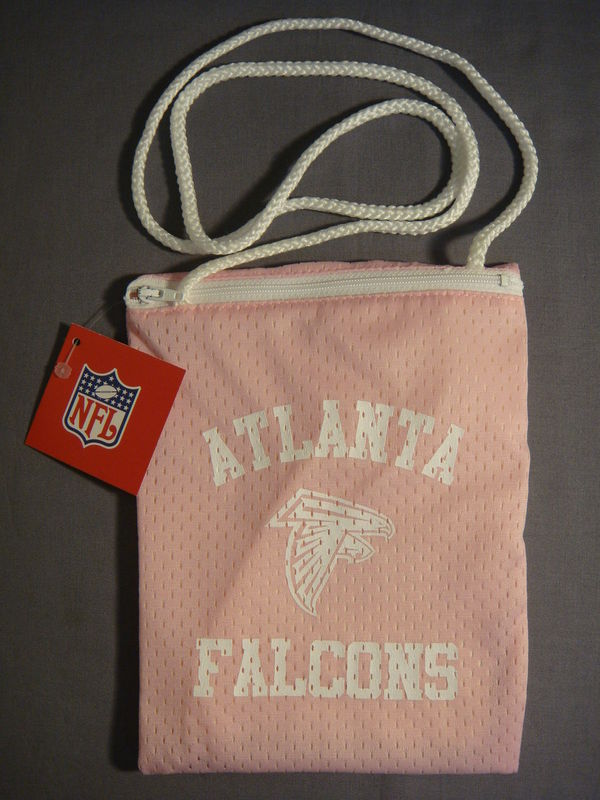 ATLANTA FALCONS FOOTBALL PINK JESERY PURSE NEW NFL