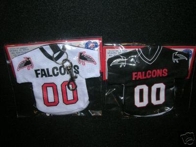 ATLANTA FALCONS KEYCHAIN JERSEY MONEY POUCH NFL NEW