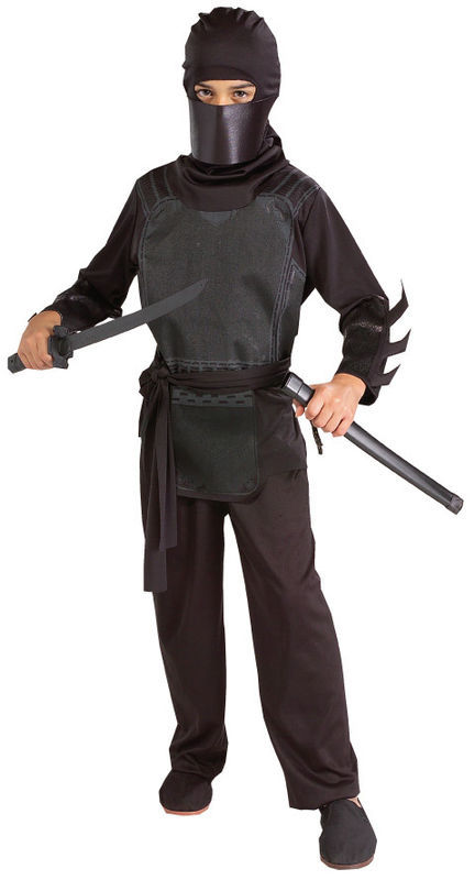 BATMAN BEGINS BRUCE WAYNE NINJA KIT HALLOWEEN COSTUME