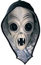 Beige Alien Screamer Hooded Adult Latex Halloween Mask  - $9.95