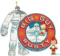 BIG GUY AND RUSTY THE BOY ROBOT HALLOWEEN MASK PVC - A