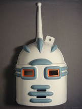 Big Guy And Rusty The Boy Robot Halloween Mask Pvc   B - $9.85