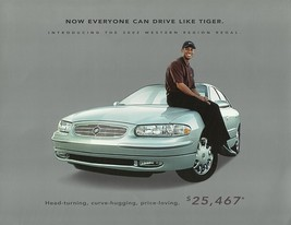 2002 Buick REGAL WESTERN REGION edition brochure sheet US 02 TIGER WOODS - $8.00
