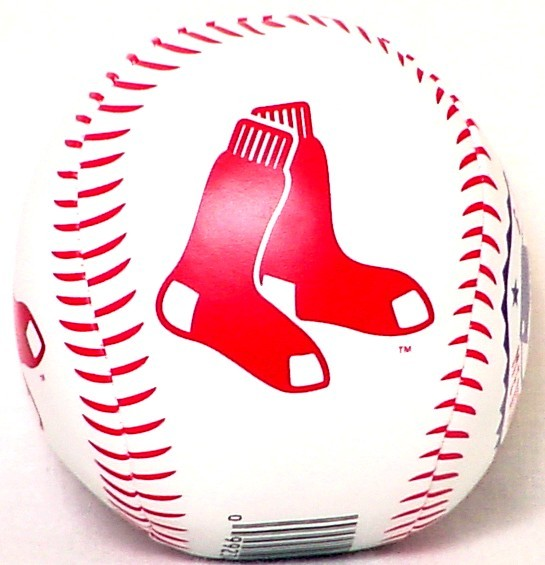 "BOSTON RED SOX 3"" SOFTEE BASEBALL NEW MLB"