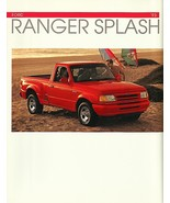 1993 Ford RANGER SPLASH sales brochure catalog US 93 Flareside - $8.00