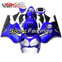 Complete Blue Fairings For 2000 2001 Kawasaki ZX12R ABS Injection Body F... - $376.44