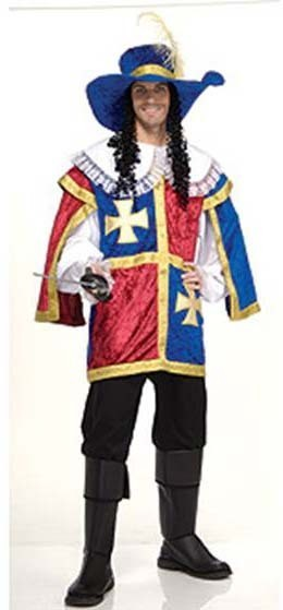 CAVALIER COSTUME GRAND HERITAGE MENS NEW HALLOWEEN