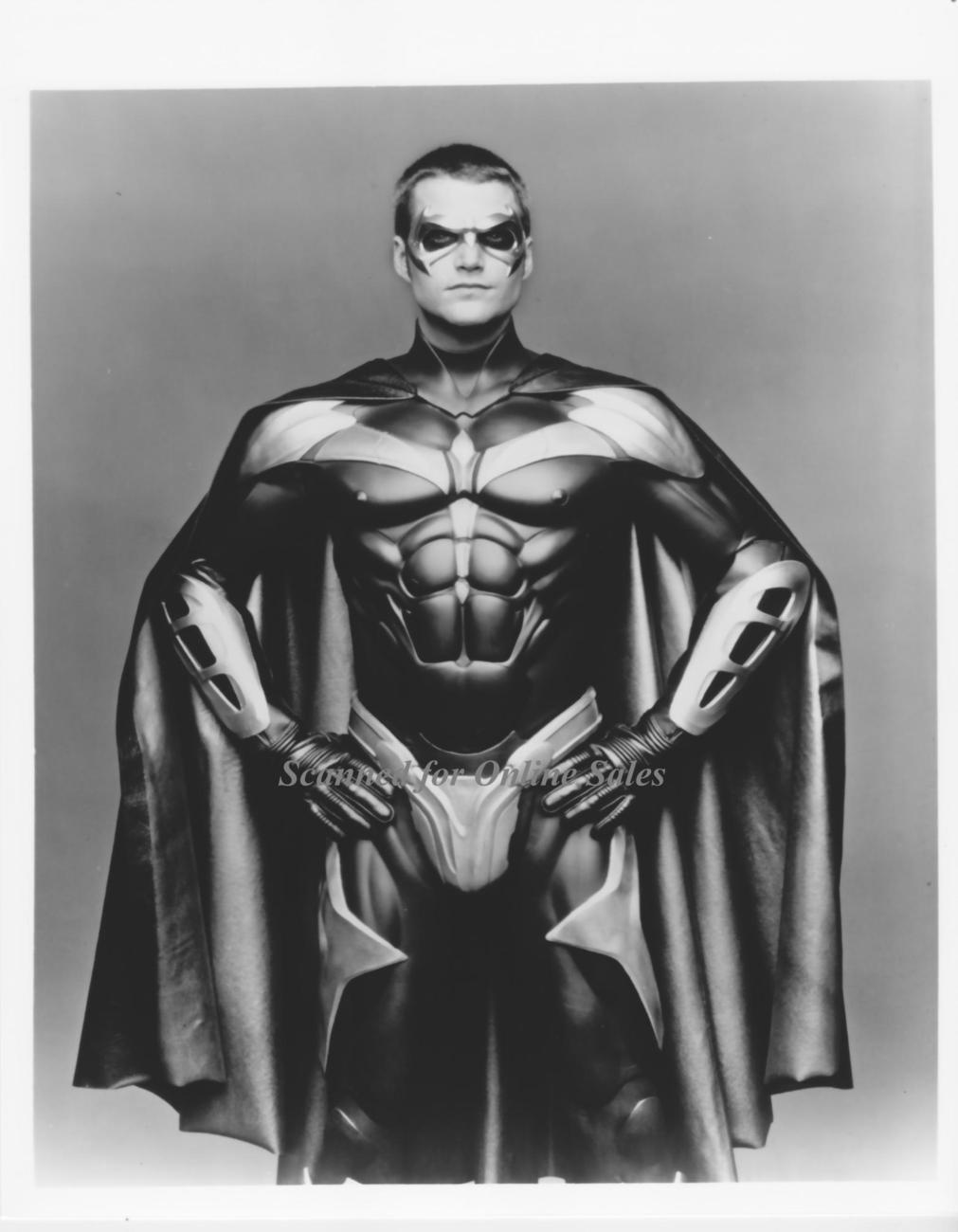 Batman & Robin Beware Chris O'Donnell 8x10 Photo