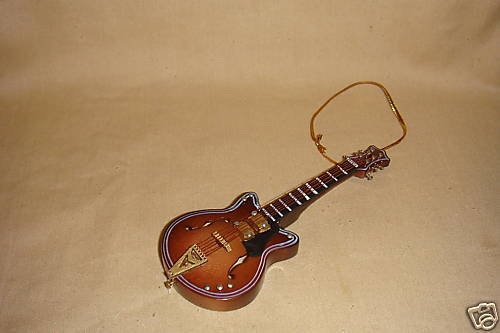 "CHET ATKINS GUITAR ORNAMENT MUSICAL INSTRUMENT 4"" NEW"