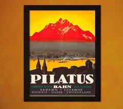 Switzerland Travel Print 1920s - Vintage Travel Poster Switzerland Poste... - $16.99+