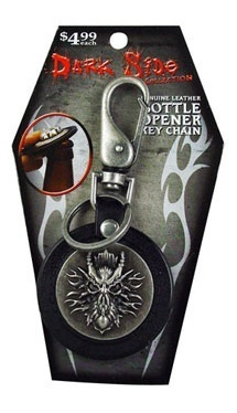 DARK SIDE COLLECTION SKULL BOTTLE OPENER & KEYCHAIN - B