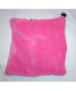 New Plush Tag Mini Security Blanket- Hot Pink and Hearts and Monkeys Han... - $12.99