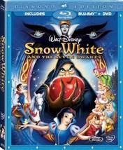 Disney Snow White and the Seven Dwarfs (3-Disc Diamond Edition Blu-ray + DVD)