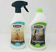 Weiman Hardwood Floor Cleaner + Polish Lot 2 Trigger Spray Finish - $59.99