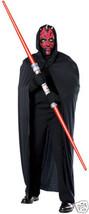 Darth Maul Mask Latex W/ Hood & Cape Star Wars Adult - $15.95