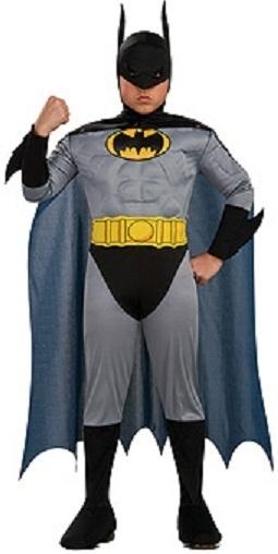 DC COMICS BATMAN HALLOWEEN COSTUME CHILD MEDIUM NEW