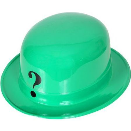 DC COMICS BATMAN THE RIDDLER GREEN HAT PVC NEW