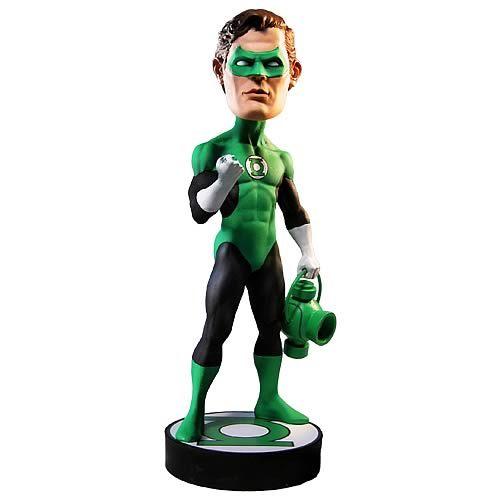 "DC COMICS GREEN LANTERN 7"" HEAD KNOCKER / BOBBLEHEAD"